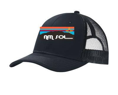 NM Sol Snapback Trucker Cap - Black