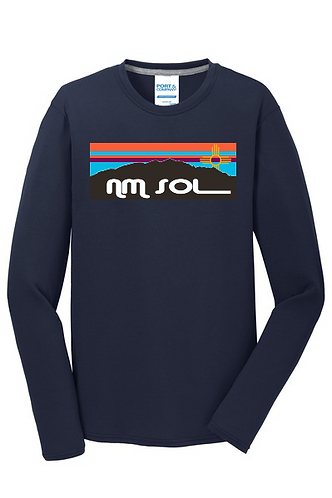 Port & Company ® Long Sleeve Performance Blend Tee - NM Sol