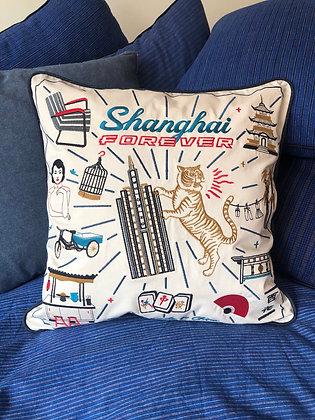"""Housse de coussin """"Shanghai Forever"""""""