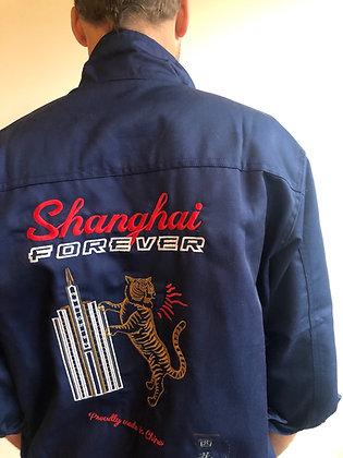 """Veste «Worker», brodée """"Shanghai Forever"""""""