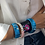 Thumbnail: The Couleurs cuff, for the benefit of the Couleurs de Chine association