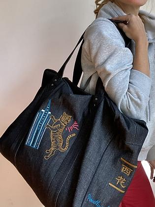 Easy bag in denim