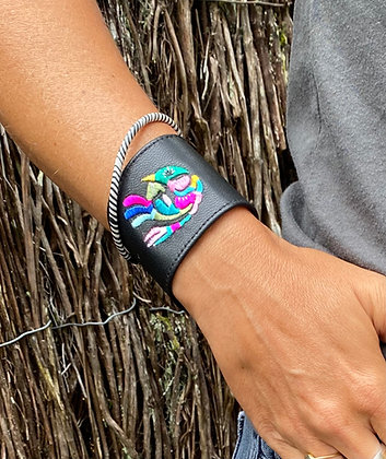 The Couleurs cuff, for the benefit of the Couleurs de Chine association