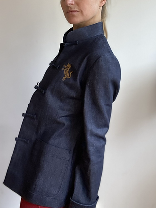 Tiger Denim Jacket