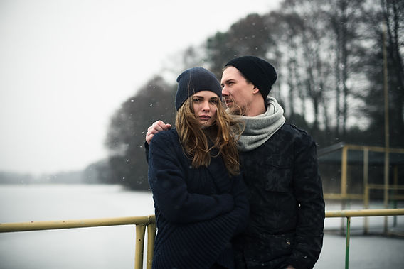 Kış Manzara Couple