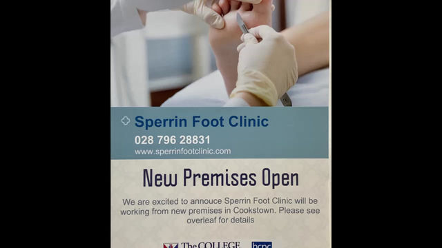 Find our New Clinic in Cookstown!!