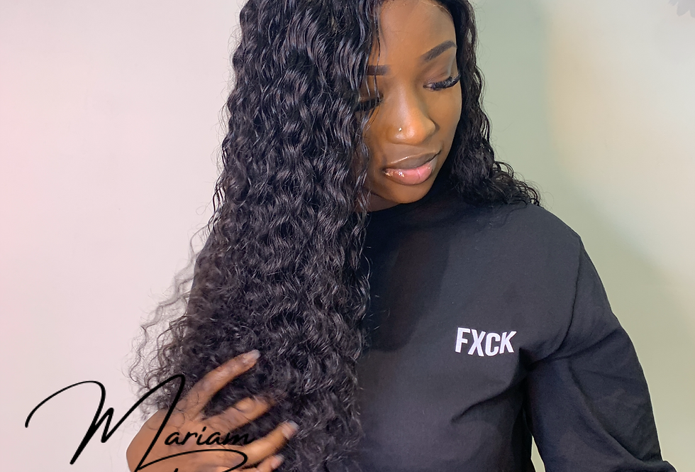 Perruque Lace Frontal - Deep Wave