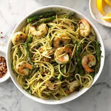 EIEIO Aioli Pasta Primavera w/ Shrimp