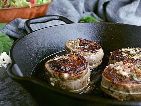 Pesto Rolled Skirt Steak