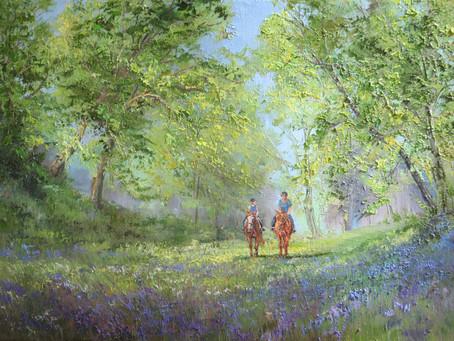 Una amable oferta de Suzanna Webb y su Irish School of Landscape Painting