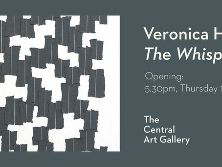 "Veronica Herber's latest exhibition ""The Whispering"" is now online"