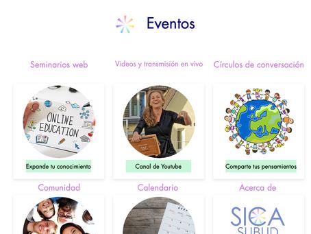Comparte tus talentos en la nueva plataforma de SICA