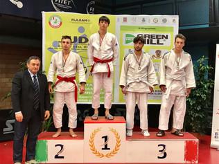 Grimzin Baldani Aleksander Bronzo al Trofeo Cadetti 2018 di Judo a Terni