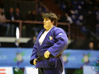 Buona prestazione di Annalisa Calagreti all'European Open Cup di Judo Città di Roma 2018