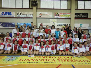 "Manifestazione Regionale di ginnastica Artistica""Trofeo Arcobaleno"""