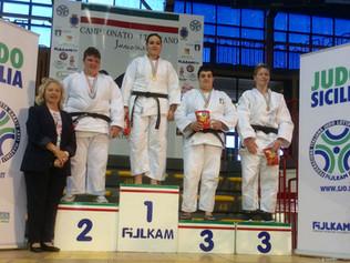 ANNALISA CALAGRETI Medaglia di Bronzo al Campionato Italiano di Judo Junior 2016.