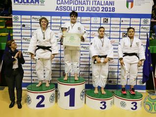 CALAGRETI ANNALISA Oro al Campionato Italiano Assoluto 2018