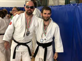 Ubaldo Cecilioni è campione italiano di Judo Fispic per la settima volta