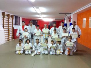 Esami di Judo al Centro Judo Ginnastica Tifernate