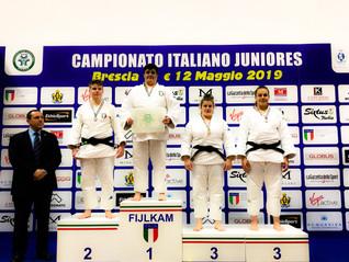 CALAGRETI ANNALISA Campionessa Italiana Junior di Judo 2019