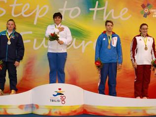 Italia dei record a Tbilisi, Annalisa Calagreticonquista il quinto oro azzurro agli EYOF