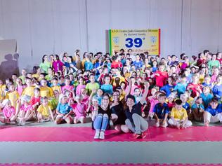 Festa di Fine corsi 2017 per l'asd Centro Judo Ginnastica Tifernate che ha festeggiato il 39° comple