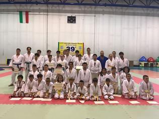 Passaggi di grado nel Judo al Centro Judo Ginnastica Tifernate
