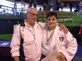 Annalisa Calagreti convocata per il Campionato d'Europa Junior di Judo a squadre 2017
