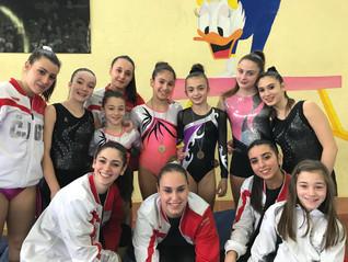 1' prova del Campionato Regionale FGI Umbria categorie SILVER LB ed LC di Ginnastica Artistica