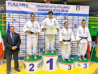 CALAGRETI ANNALISA Campionessa Italiana Junior di Judo 2018