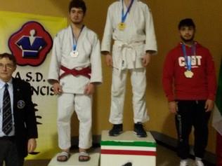 Bianconi Luca conquista il podio al Trofeo Macaluso di Judo 2016 e la Cintura Nera 1°dan.