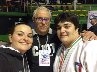 CALAGRETI ANNALISA Bronzo al Campionato Italiano Assoluto 2017