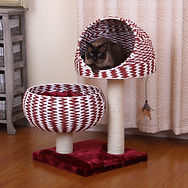 Cat House-petpalsgroup cat furniture toys bed food bowl