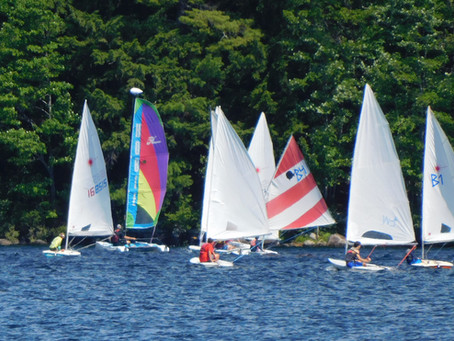 Adventures on the Bud Lazott/Camp Cup Committee Boat