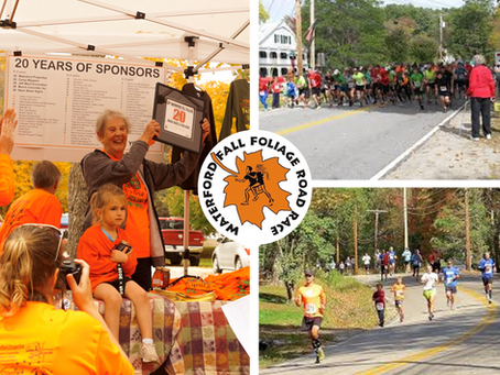 History of the Waterford Fall Foliage Road Race