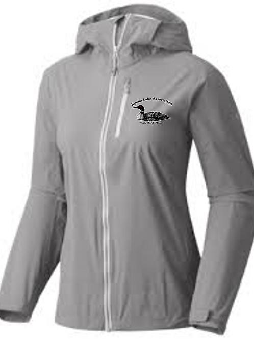 Women's Embroidered Rain Jacket