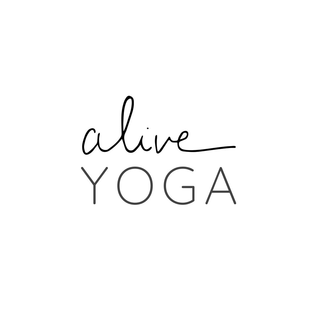 alive YOGA Logo
