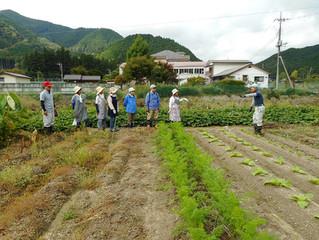 「ふるさと農園事業」を9月23日の秋分の日に行いました。