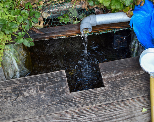 伝説の弘法の水