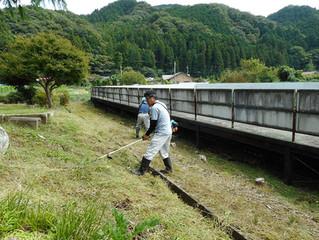 「古峰ヶ原街道景観づくり事業」を9月23日の秋分の日に行いました。