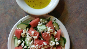 Feta Watermelon Salad