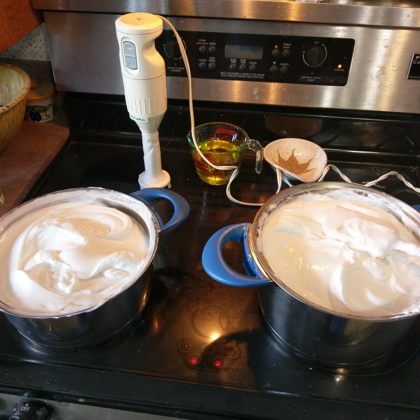 lotions on stove