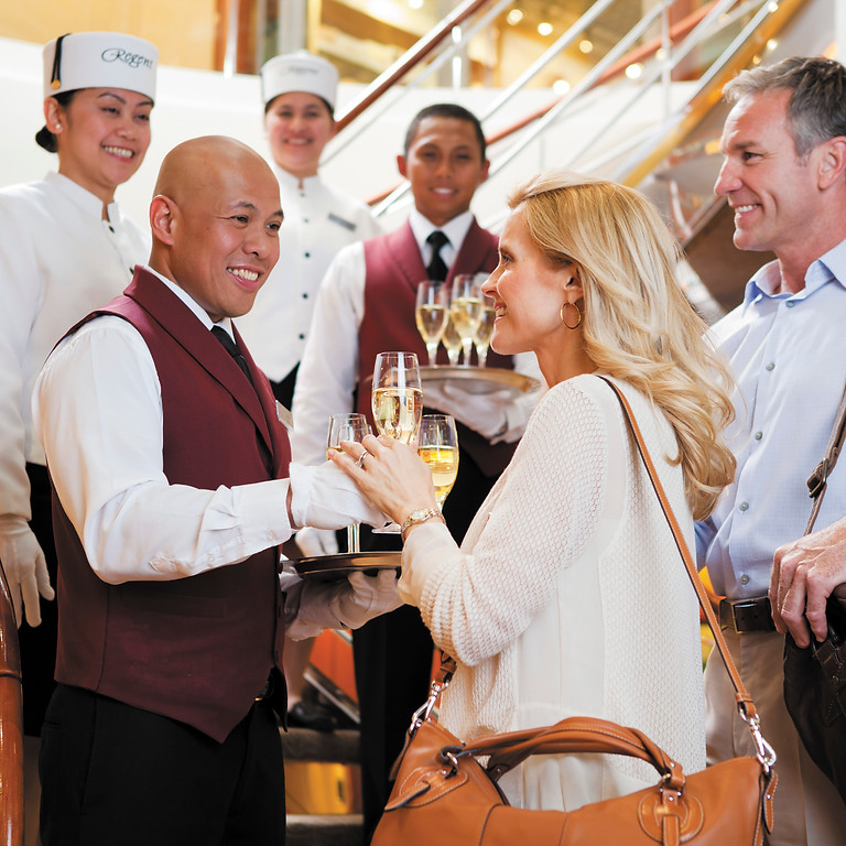 Regent Cruise Lines Presents - All-Inclusive Alaska with First Class Airfare Included - May 2022