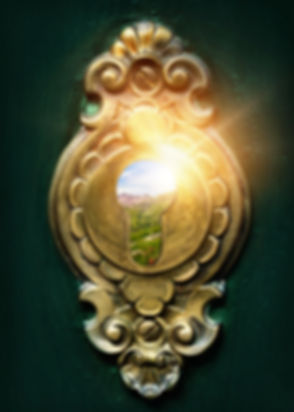 Looking through a magic keyhole                             _