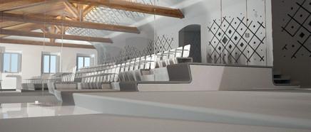 Sala de plens - Santiago Costa