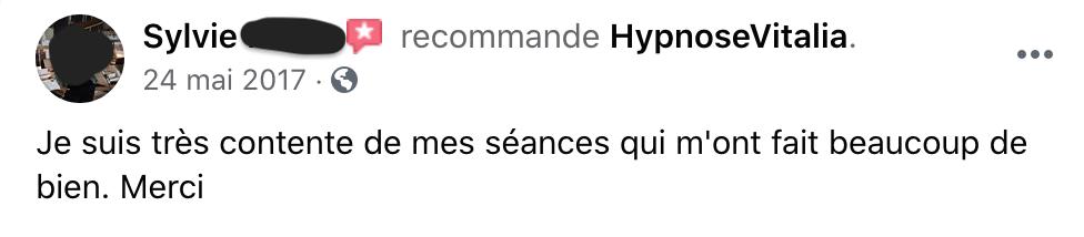 Avis Hypnose Vitalia 5