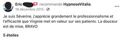 Avis Hypnose Vitalia 8