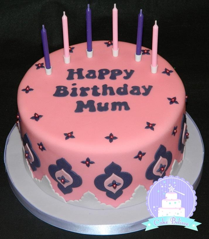 Mum birthday pink