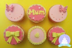 Mum pink and yellow