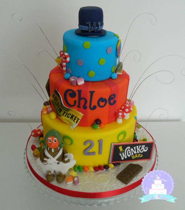 Chocolate Factory cake